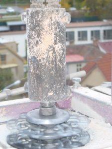 frézování komínu
