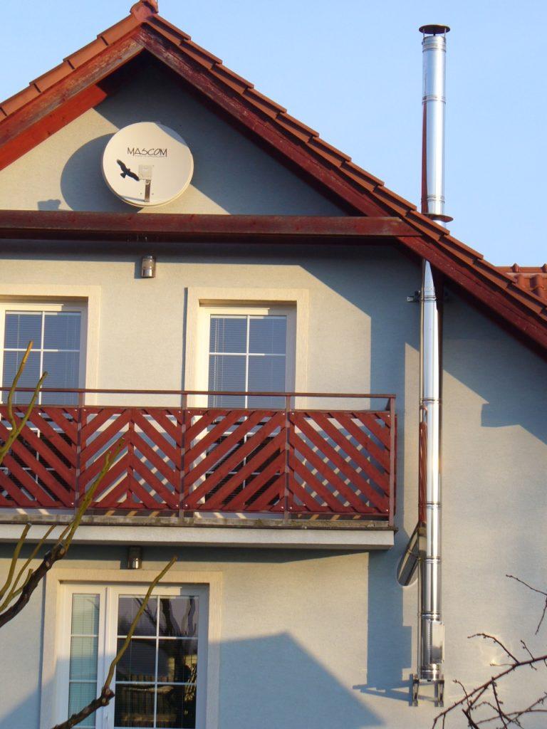 nerezový komín Olomouc